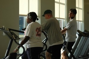 Fitness Center at Wellesley High School