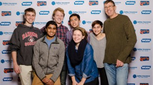 The quiz show team competed on WGBH's high school quiz show, partaking in four different rounds.