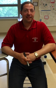 Craig Brown, teacher of Evolutions and AP Calculus, will deliver the faculty graduation speech on Friday.