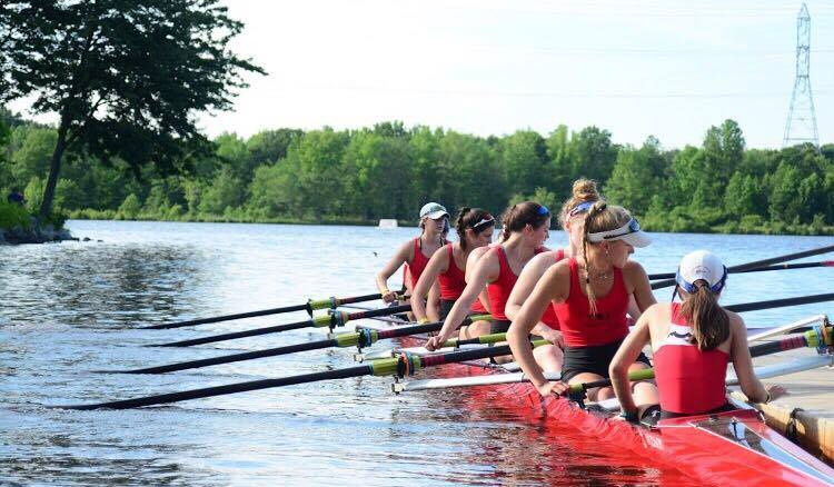 Mason began rowing the summer of her freshman year without any expectations to continue. Years later, she is now one of the top rowers and captain on her varsity team. Photo courtesy of Nick Fitzpatrick.