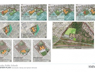 The HHU Master Planning Committee concluded there will not be a 24 section elementary school built, but three 19 section schools at the Hardy, Hunnewell and Upham sites. Photo courtesy of HHU.