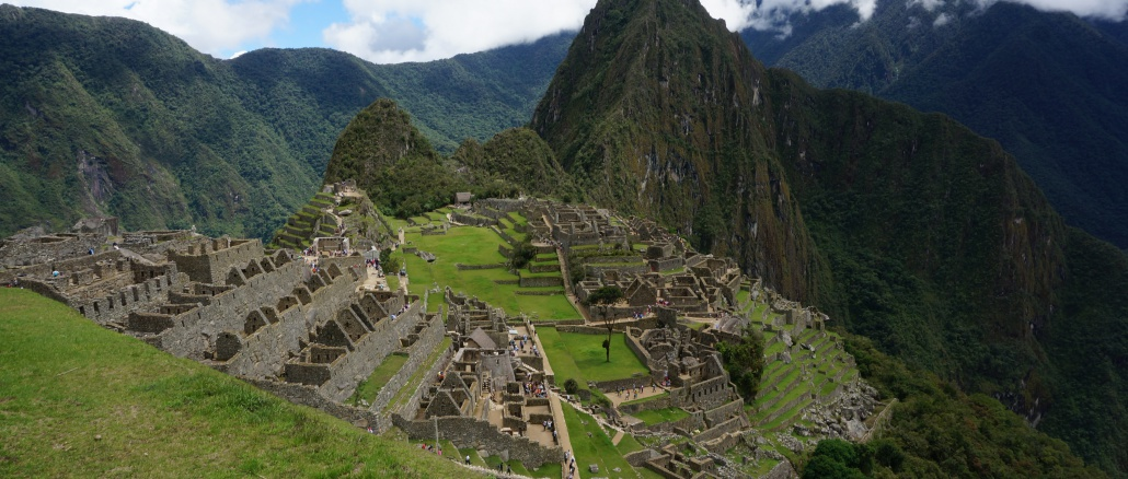 Students visited Machu Picchu in March and attended a three day conference in Peru about global issues.