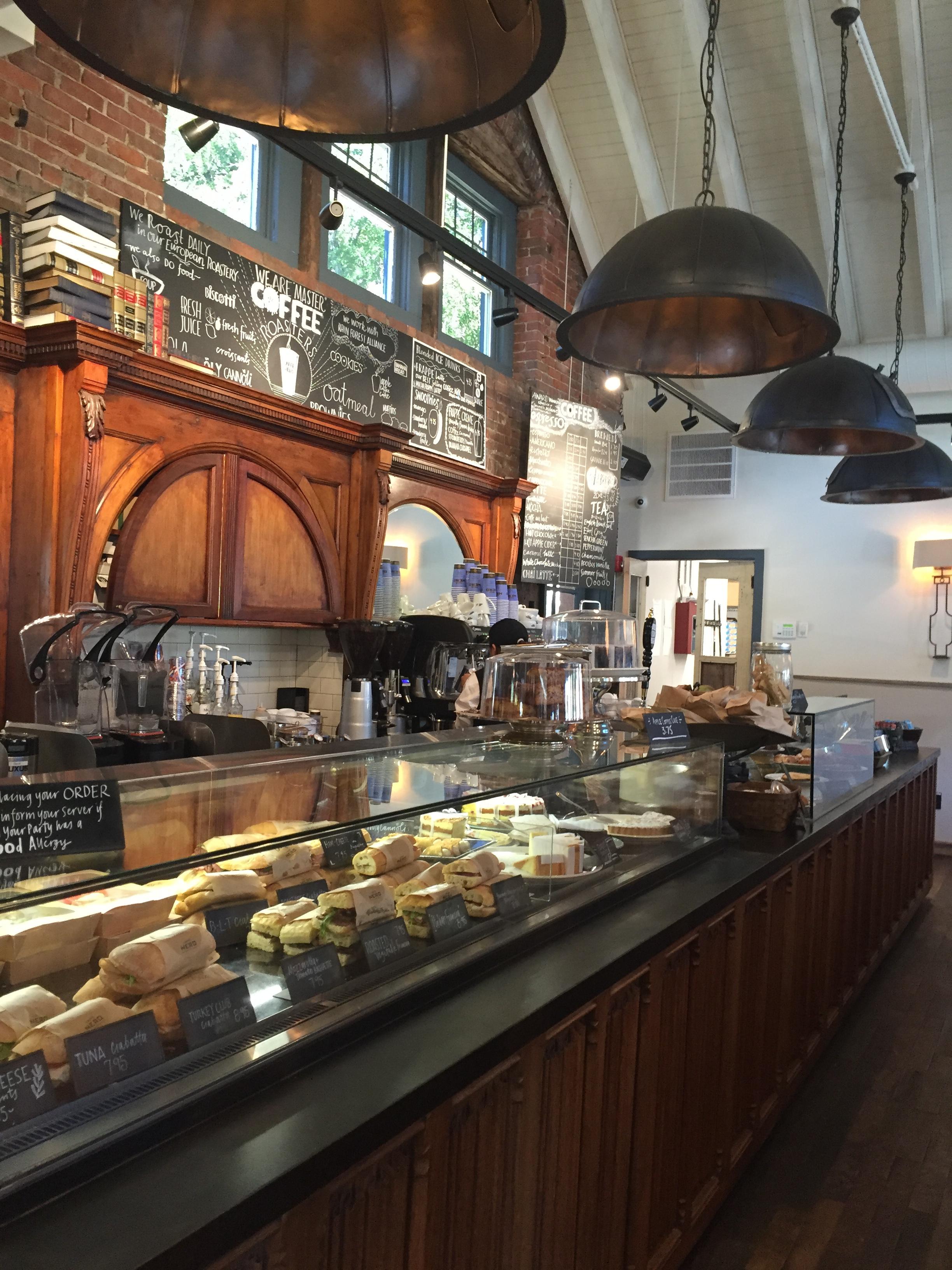 Home Goods Couches: Caffè Nero: Charming, But Still A Chain