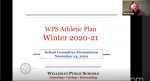 School Committee converses about the winter sports season