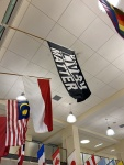 Wellesley raises Black Lives Matter flag